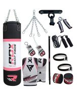 RDX X4 13pc Punch Bag Boxing Set