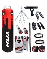 RDX F9 13PC Punch Bag with Bag Mitts