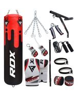 RDX F9 17PC Punch Bag with Bag Mitts