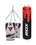 RDX F9 Punch Bag with Bag Mitts