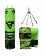 RDX F16  Filled Punching Bag With bag Gloves