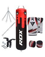 RDX F9 8PC Punch Bag with Bag Mitts