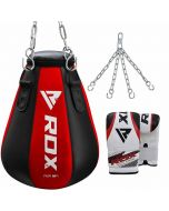 RDX MR Maize Punching Bag With Bag Gloves