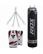 RDX X1 Punch Bag & Bag Gloves