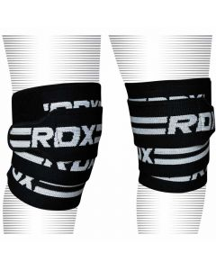 RDX K2 Black Knee Wraps