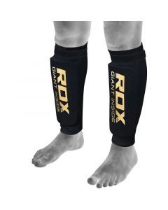 RDX SB Small Black Lycra Shin Guards