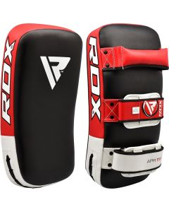 RDX T1 Red Leather X Curved Thai Pad