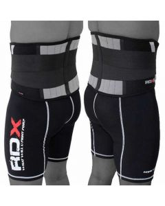 RDX X2 Small Black Neoprene  Lower Back Support Belt