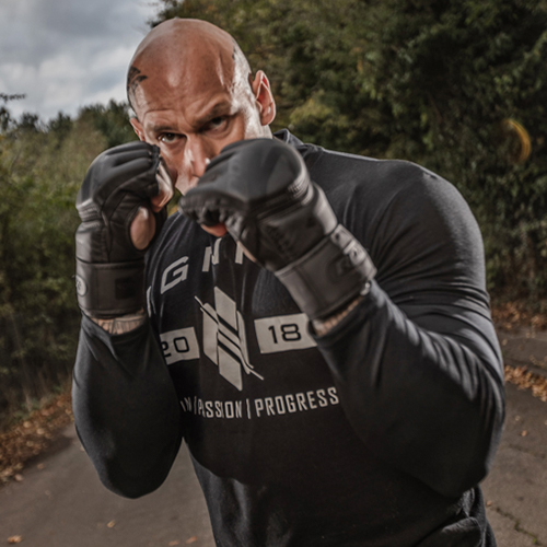 RDX Black MMA Gloves for Men